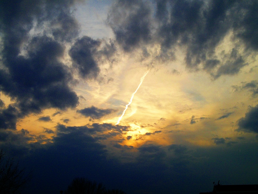 Shot Through The Sky