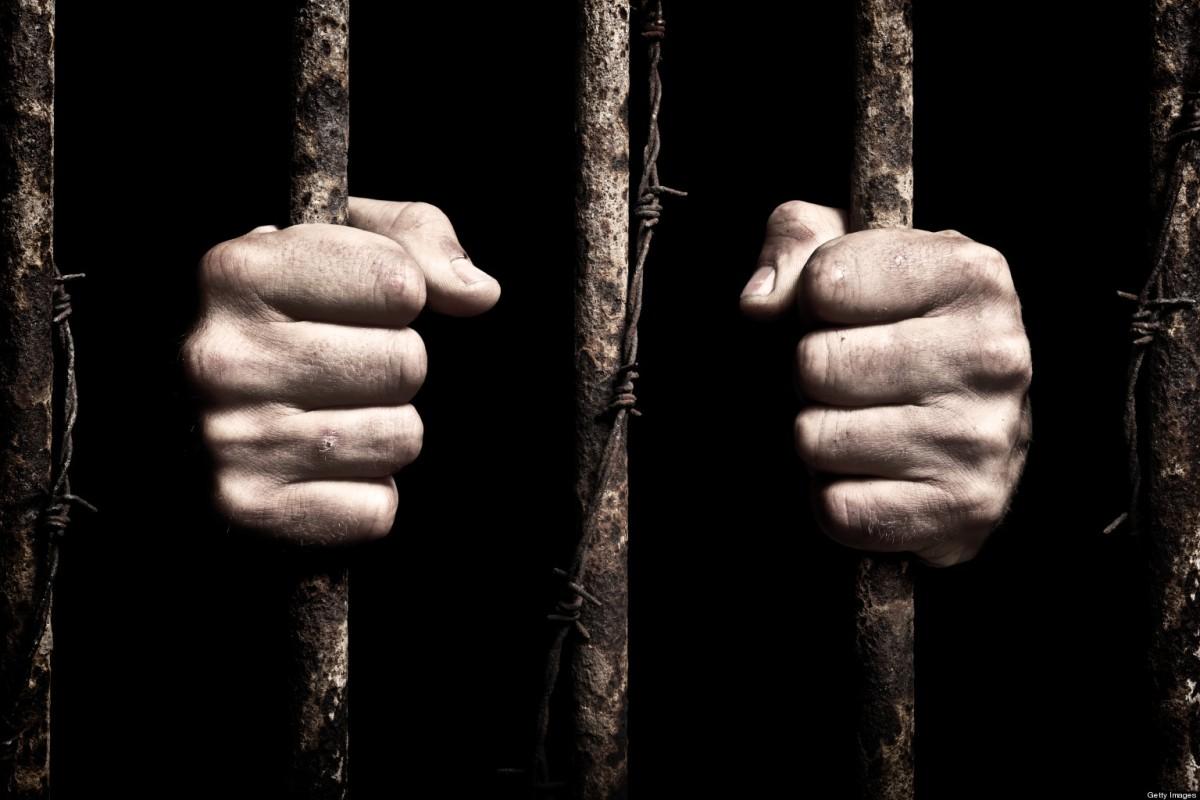 In A Prison