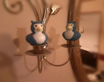 Doppelgänger bluebirds