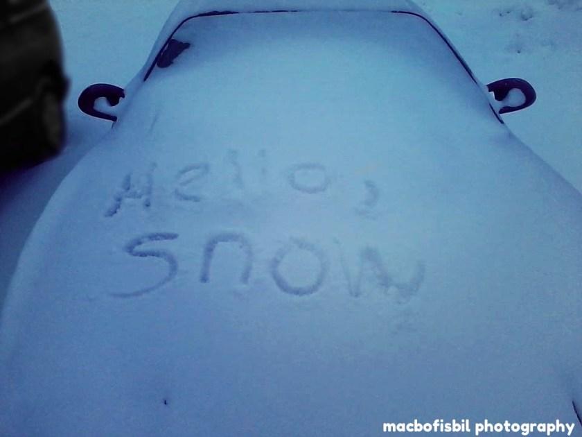 0101 Hello, Snow