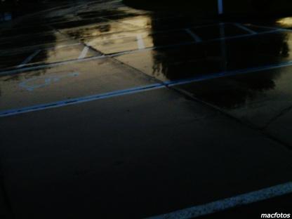 Wet Parking Lot