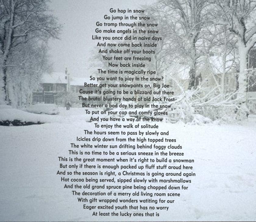 snowmanpoetry