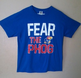 Fear the Phog - Kansas Jayhawks