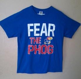 Fear the Phog - Kansas Jayhawks